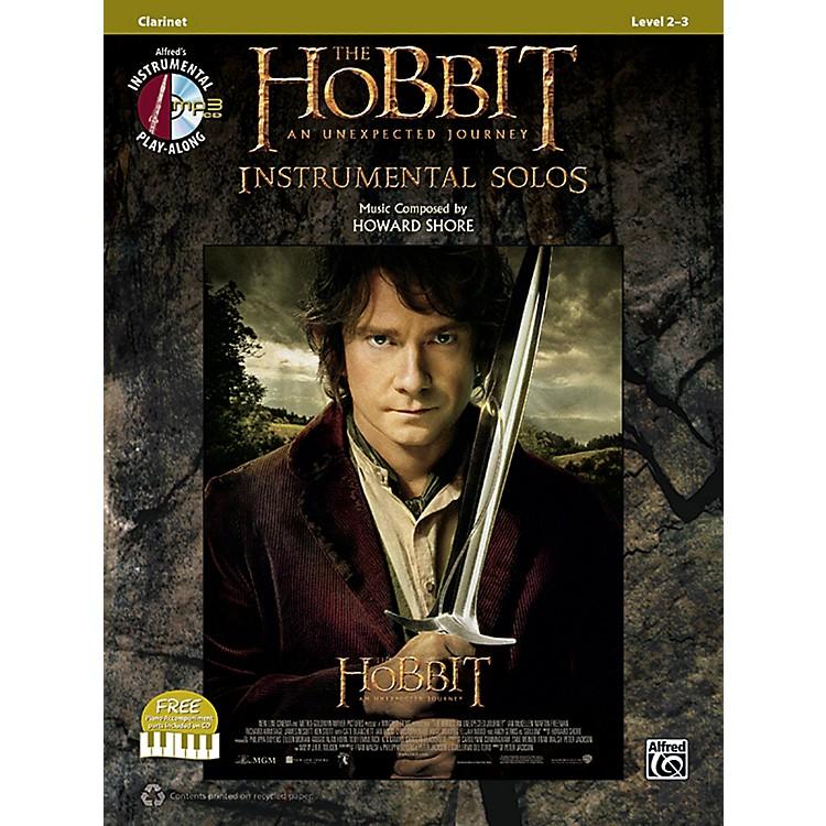 AlfredThe Hobbit: An Unexpected Journey Instrumental Solos Clarinet (Book/CD)