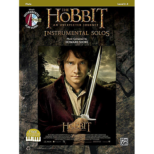 Alfred The Hobbit: An Unexpected Journey Instrumental Solos Flute (Book/CD)-thumbnail