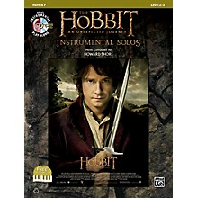 Alfred The Hobbit: An Unexpected Journey Instrumental Solos Horn in F (Book/CD)