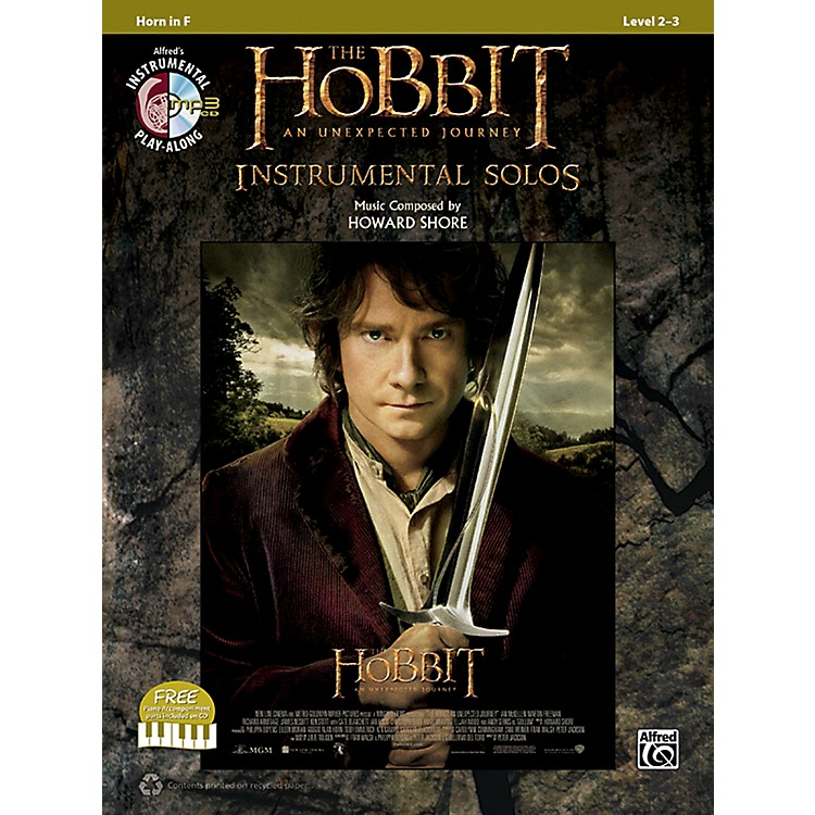 AlfredThe Hobbit: An Unexpected Journey Instrumental Solos Horn in F (Book/CD)