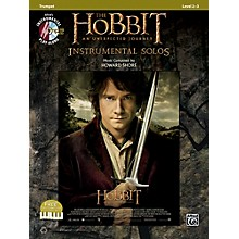 Alfred The Hobbit: An Unexpected Journey Instrumental Solos Trumpet (Book/CD)