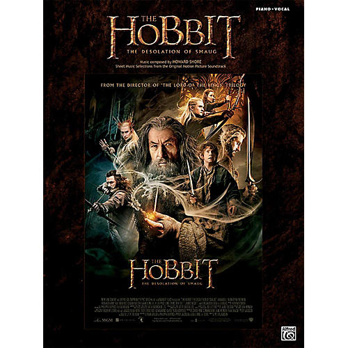 Alfred The Hobbit The Desolation of Smaug Piano/Vocal Book-thumbnail