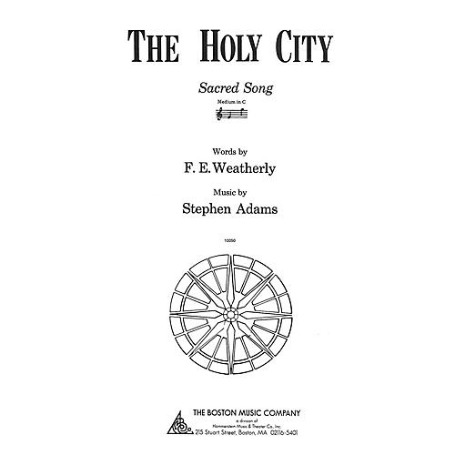 Music Sales The Holy City Medium C Music Sales America Series-thumbnail