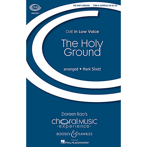 Boosey and Hawkes The Holy Ground (CME In Low Voice) TTBB arranged by Mark Sirett-thumbnail