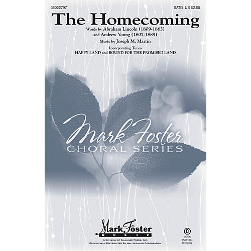 Shawnee Press The Homecoming SATB composed by Joseph M. Martin