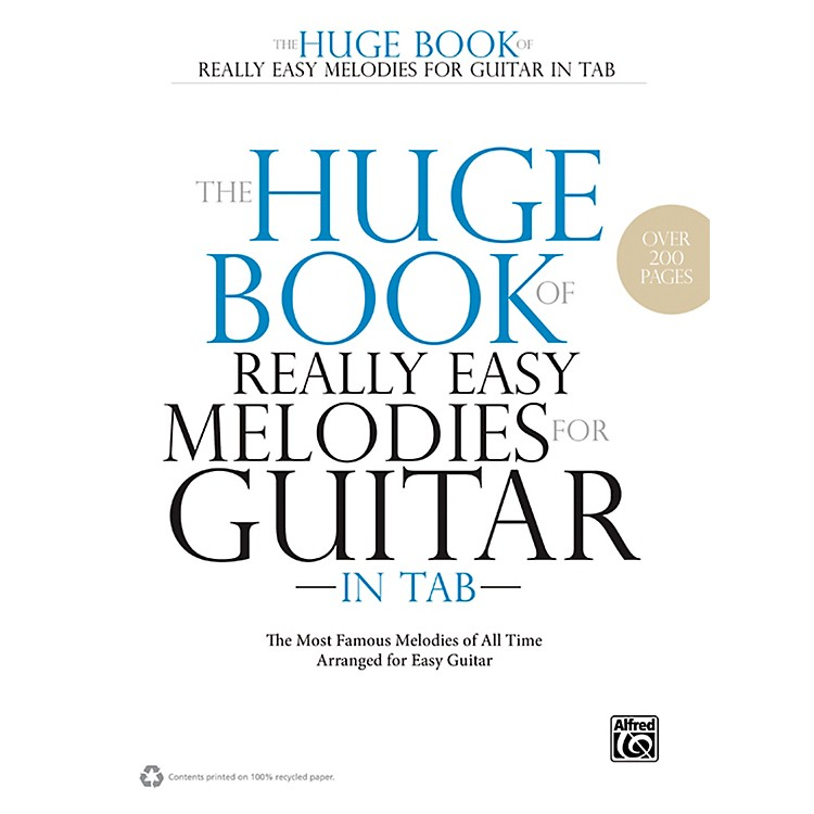AlfredThe Huge Book of Really Easy Melodies for Guitar in TAB