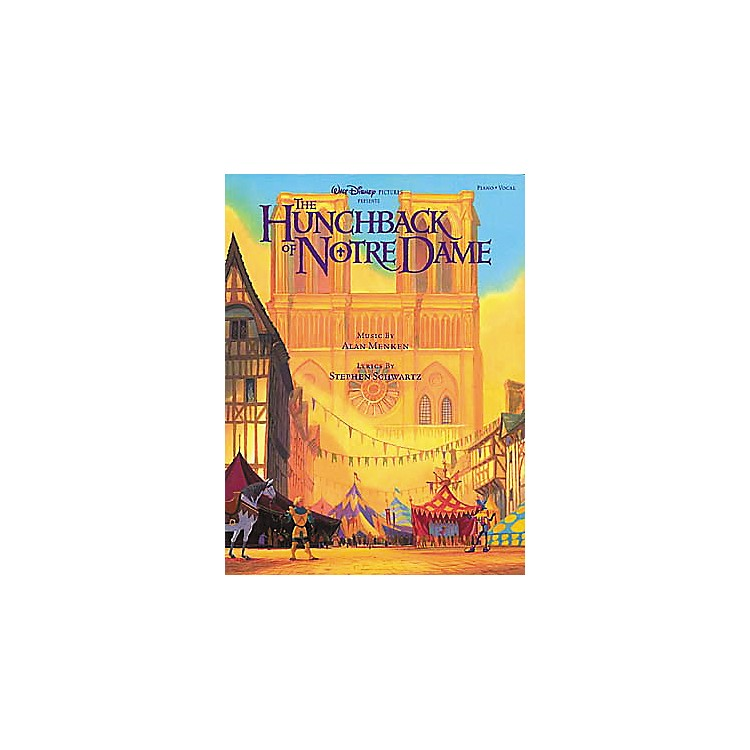Hal Leonard The Hunchback of Notre Dame Piano, Vocal, Guitar Songbook