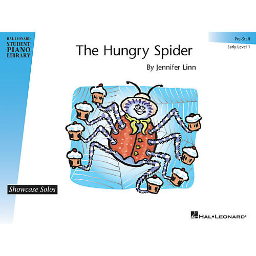 Hal Leonard The Hungry Spider Piano Library Series by Jennifer Linn (Level Early Elem (Pre-Staff))
