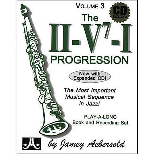 Jamey Aebersold The II/V7/I Progression Book and CD
