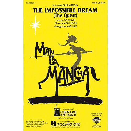 Hal Leonard The Impossible Dream (from Man of La Mancha) ShowTrax CD Arranged by Mac Huff-thumbnail