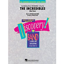 Hal Leonard The Incredibles Concert Band Level 1.5 Arranged by Johnnie Vinson