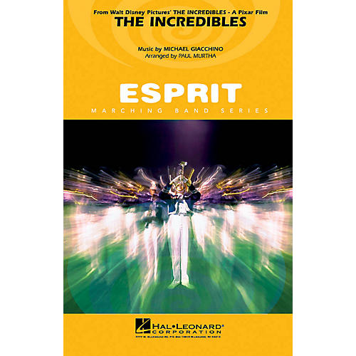 Hal Leonard The Incredibles Marching Band Level 3 Arranged by Paul Murtha-thumbnail