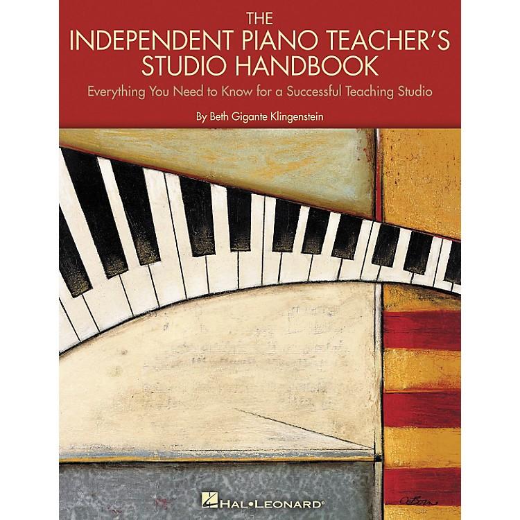Hal LeonardThe Independent Piano Teacher's Studio Handbook