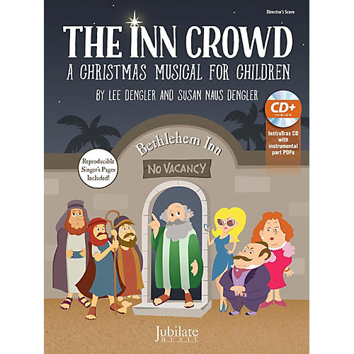 Alfred The Inn Crowd Director's Kit Score & InstruTrax CD