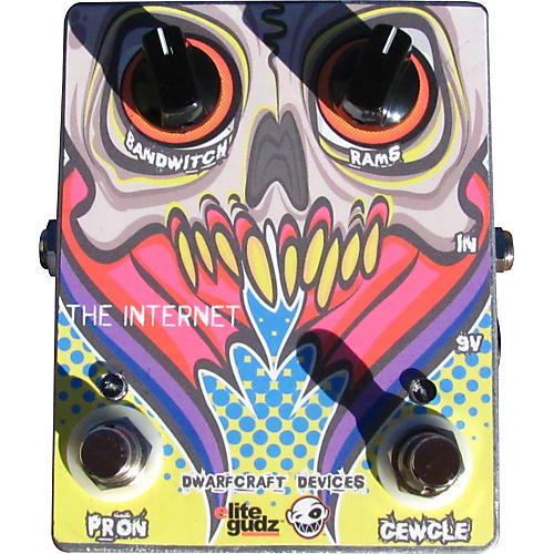 Dwarfcraft The Internet Overdrive Guitar Effects Pedal