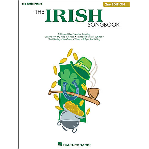 Hal Leonard The Irish Songbook - 2nd Edition for Big Note Piano