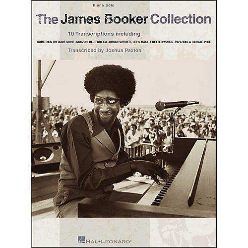 Hal Leonard The James Booker Collection Piano Solo