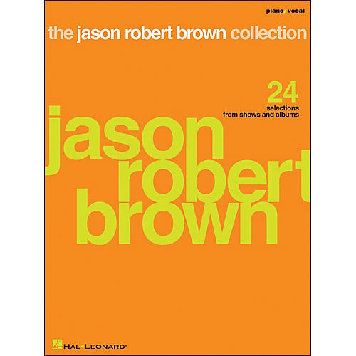 Hal Leonard The Jason Robert Brown Collection Piano/Vocal arranged for piano, vocal, and guitar (P/V/G)-thumbnail