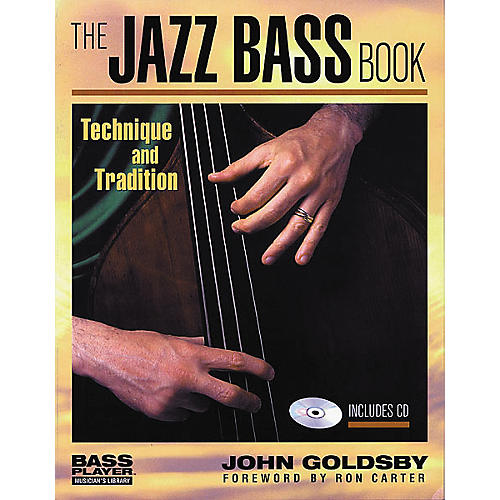 Backbeat Books The Jazz Bass (Book/CD)-thumbnail