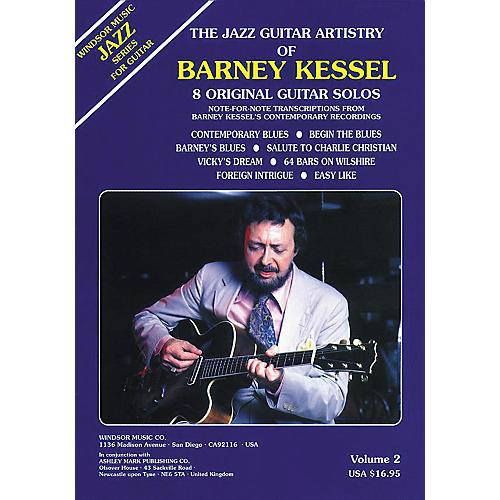 Ashley Mark The Jazz Guitar Artistry of Barney Kessel Volume 2 Tab Book