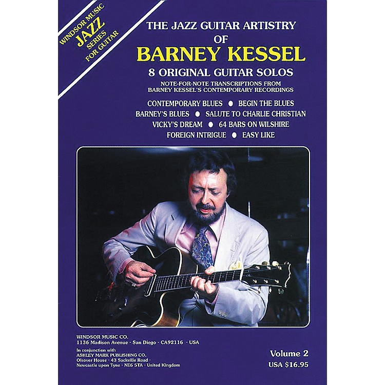 Ashley MarkThe Jazz Guitar Artistry of Barney Kessel Volume 2 Tab Book