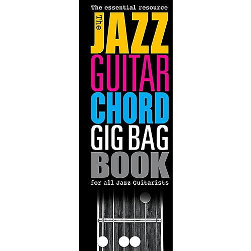 Music Sales The Jazz Guitar Chord Gig Bag Book-thumbnail