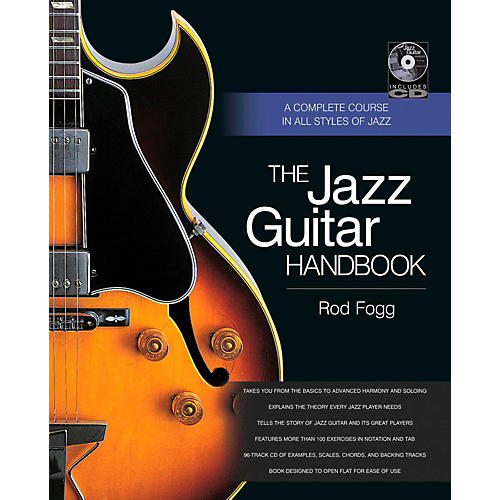 Backbeat Books The Jazz Guitar Handbook:  A Complete Course in All Styles of Jazz