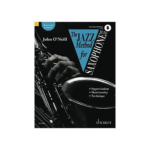 Schott The Jazz Method for Alto Saxophone Schott Series-thumbnail