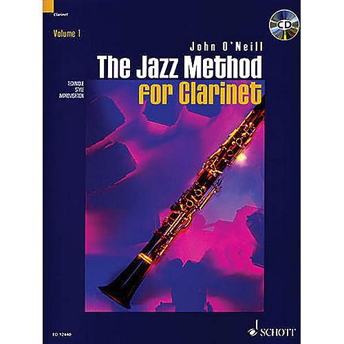 Schott The Jazz Method for Clarinet Schott Series-thumbnail