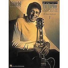 Hal Leonard The Jazz Style of Tal Farlow (Guitar)