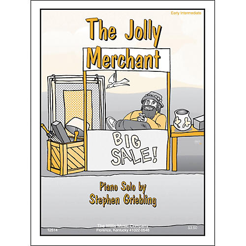 Willis Music The Jolly Merchant Early Intermediate Piano Solo by Stephen Griebling-thumbnail