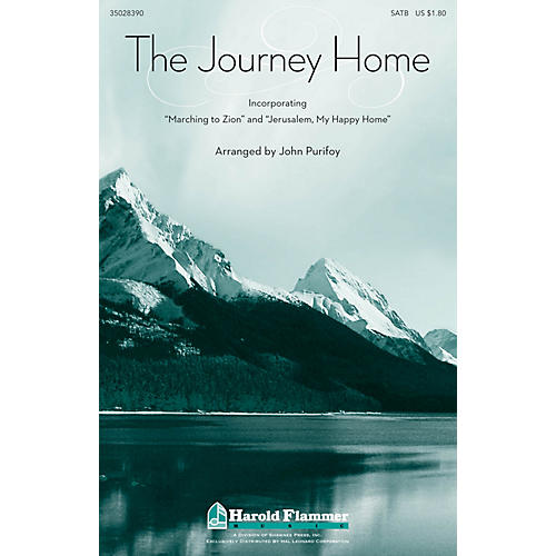 Shawnee Press The Journey Home SATB arranged by John Purifoy-thumbnail