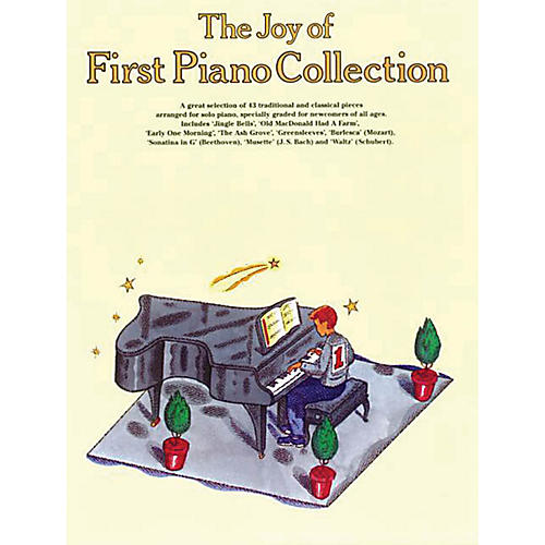 Music Sales The Joy of First Piano Collection Music Sales America Series Softcover-thumbnail