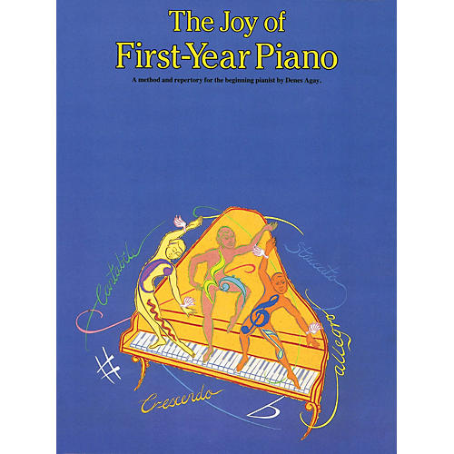 Music Sales The Joy of First Year Piano Yorktown Series Softcover Written by Denes Agay-thumbnail