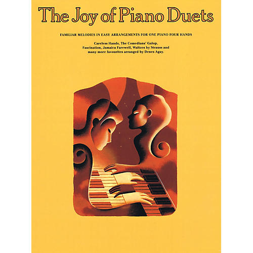 Music Sales The Joy of Piano Duets Yorktown Series Softcover-thumbnail