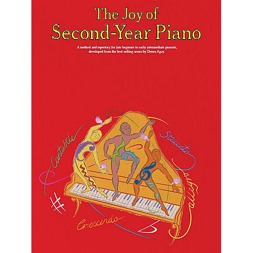 Music Sales The Joy of Second-Year Piano Music Sales America Series Softcover