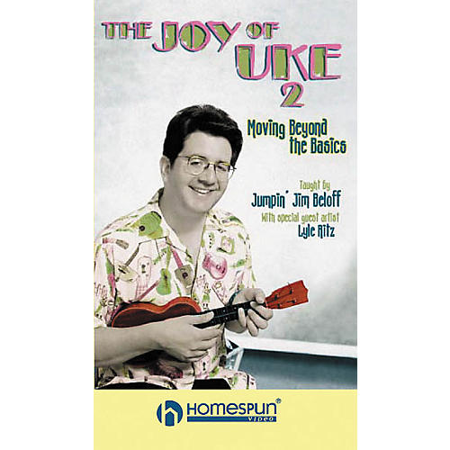 Homespun The Joy of Uke - Volume 2 (VHS)