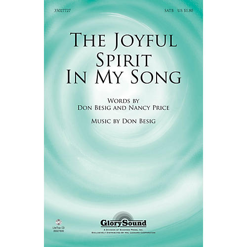 Shawnee Press The Joyful Spirit in My Song SATB composed by Don Besig-thumbnail