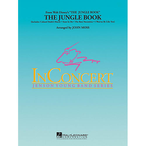 Hal Leonard The Jungle Book - Young Concert Band Series Level 3 arranged by John Moss-thumbnail