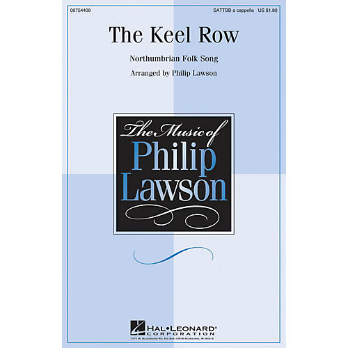 Hal Leonard The Keel Row SATTBB A Cappella arranged by Philip Lawson-thumbnail