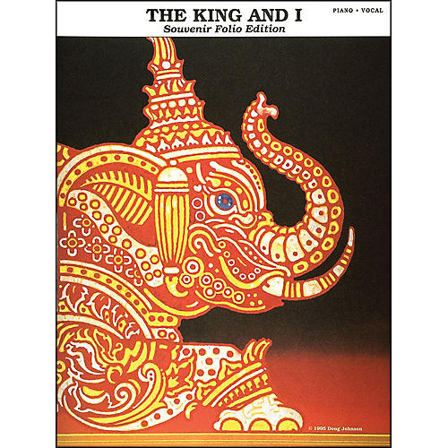 Hal Leonard The King And I Souvenir Edition arranged for piano, vocal, and guitar (P/V/G)