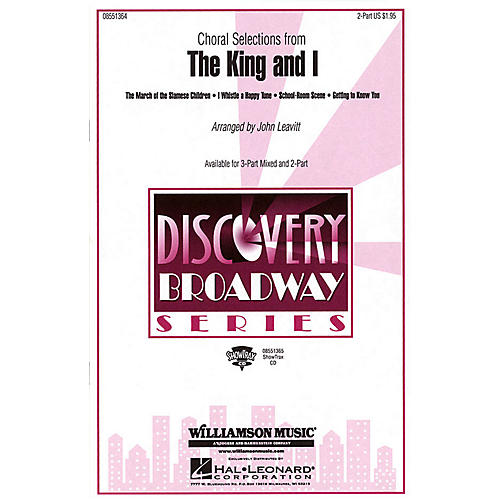 Hal Leonard The King and I (Choral Selections) 3-Part Mixed Arranged by John Leavitt