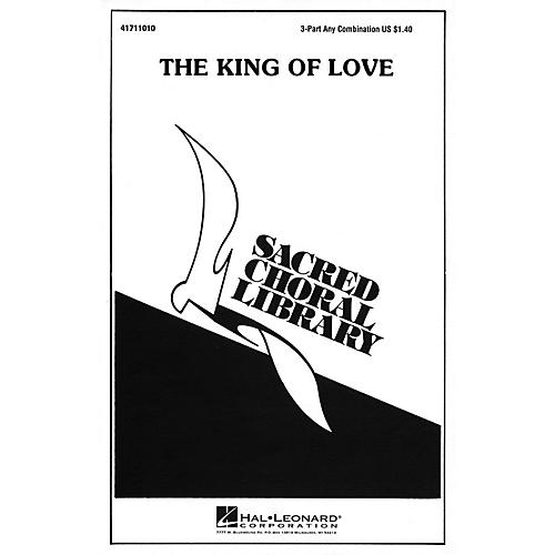 Hal Leonard The King of Love 3 Part Any Combination arranged by Julie Knowles-thumbnail