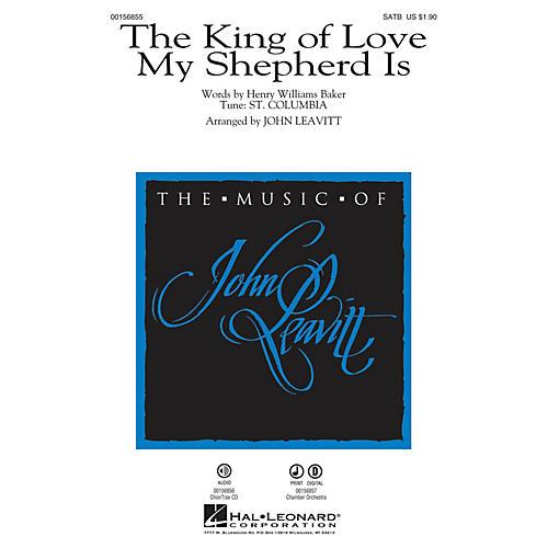 Hal Leonard The King of Love My Shepherd Is SATB arranged by John Leavitt