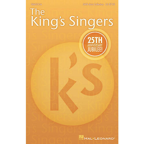 Hal Leonard The King's Singers' 25th Anniversary Jubilee (Collection) SATB Divisi Collection by The King's Singers-thumbnail