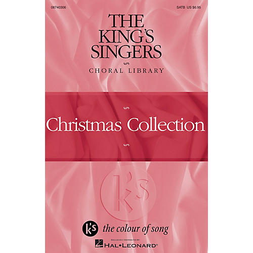 Hal Leonard The King's Singers Choral Library (Christmas Collection) 4 Part by The King's Singers-thumbnail