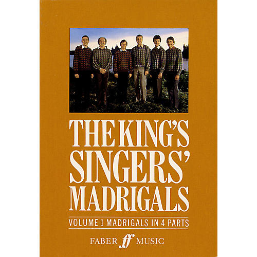 Faber Music LTD The King's Singers' Madrigals (Vol. 1) (Collection) 4 Part Edited by Clifford Bartlett-thumbnail