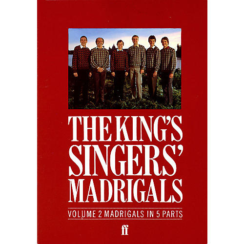 Faber Music LTD The King's Singers' Madrigals (Vol. 2) (Collection) 5 Part Edited by Clifford Bartlett-thumbnail