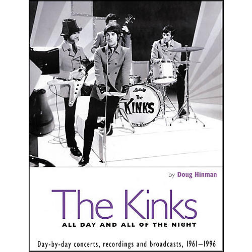 Backbeat Books The Kinks - All Day and All of the Night Book-thumbnail