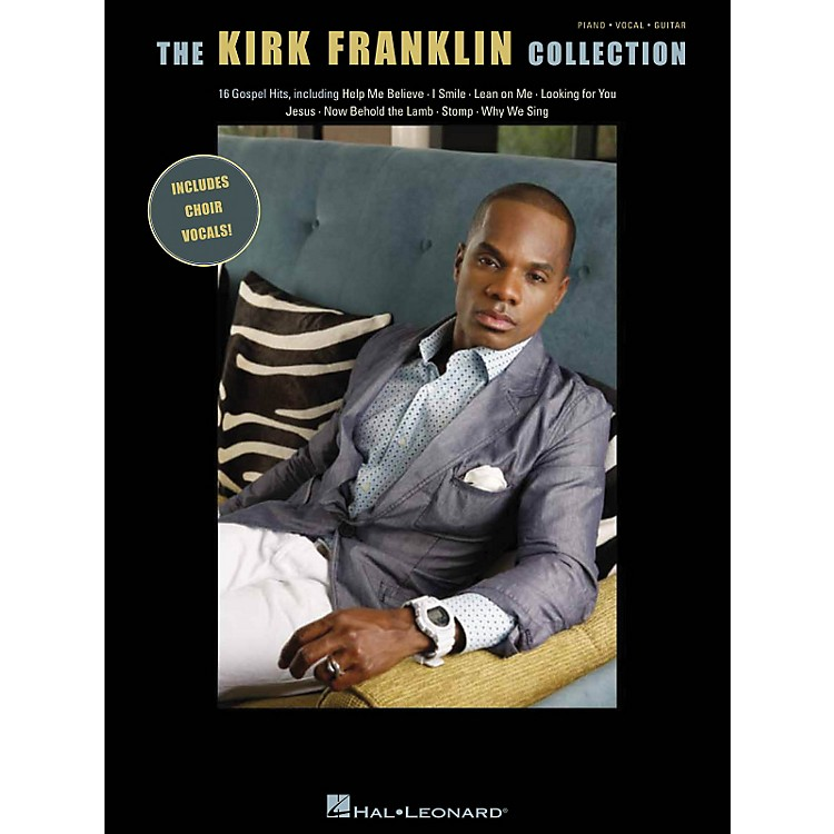 Hal Leonard The Kirk Franklin Collection P/V/G Songbook